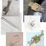 Etsy Slog: Vintage Articulated Jewelry