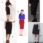 A Hemline Worth Talking About: Below-The-Knee Skirts