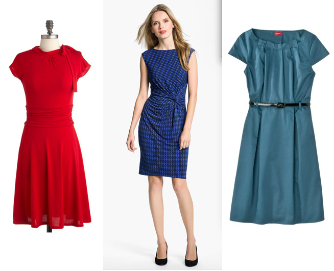 cap sleeve dresses fall 2012
